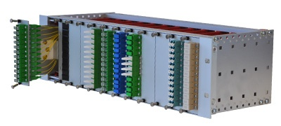 "Modular Distribution Box OMP 19"" 3U Q-Fiber"